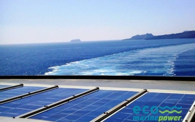 Ship PV Array on RoRo Vessel