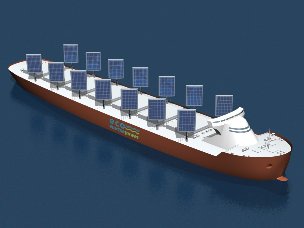 Aquarius Eco Ship by Eco Marine Power