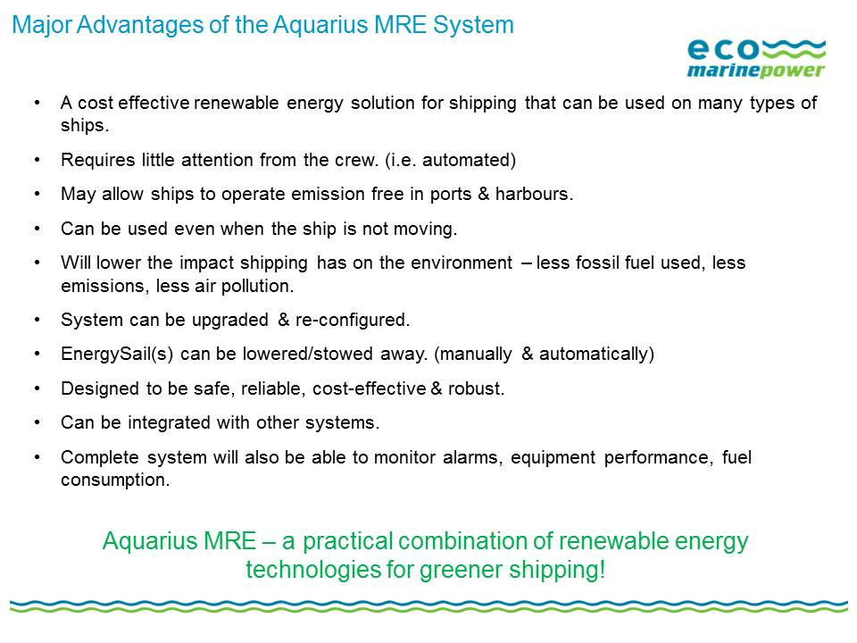 Aquarius MRE Key Features