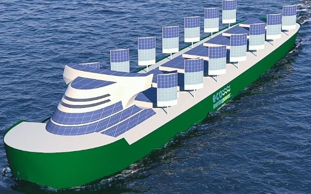 Aquarius Zero Emission Eco Ship