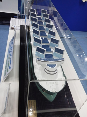 Aquarius Eco Ship Model