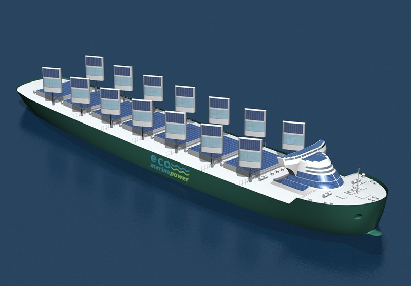Impression of Aquarius Eco Ship incorporating Aquarius MRE