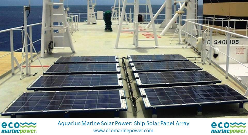 Eco Marine Power Ship Solar Power