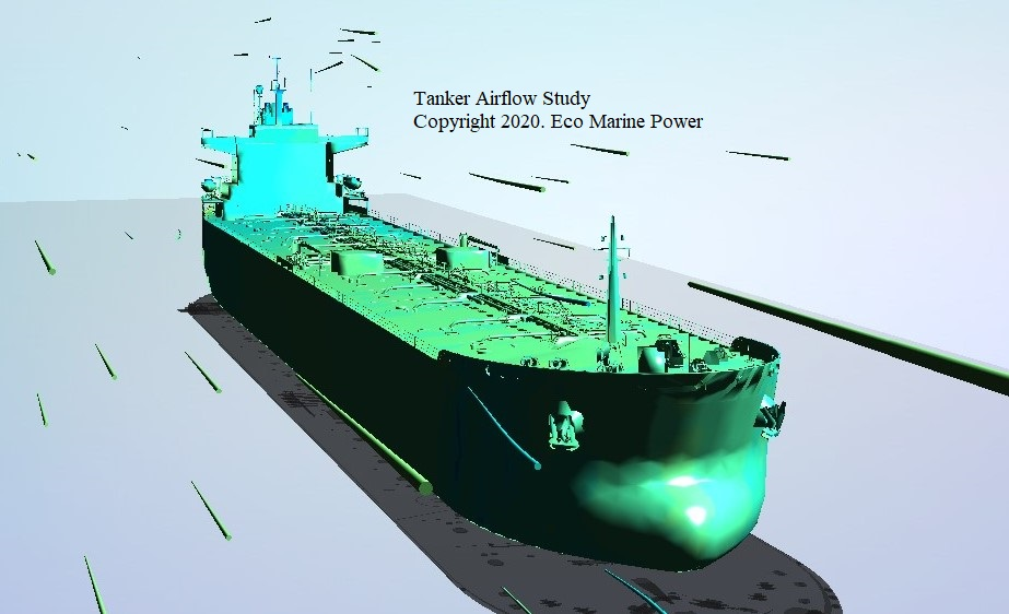 Tanker CFD Airflow Study | Eco Marine Power
