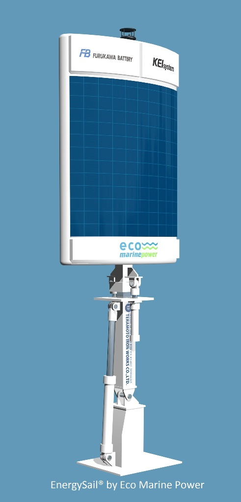 EnergySail by Eco Marine Power