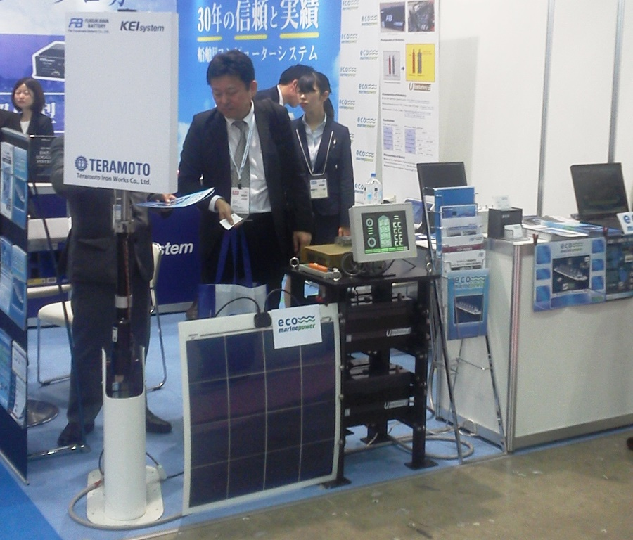 EnergySail Prototype and other products at Sea Japan 2018