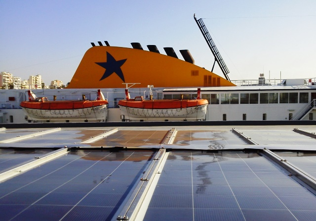 Aquarius Marine Solar Power on Blue Star Delos