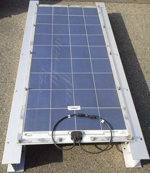 PV Panel & Mounting Frame for Ships